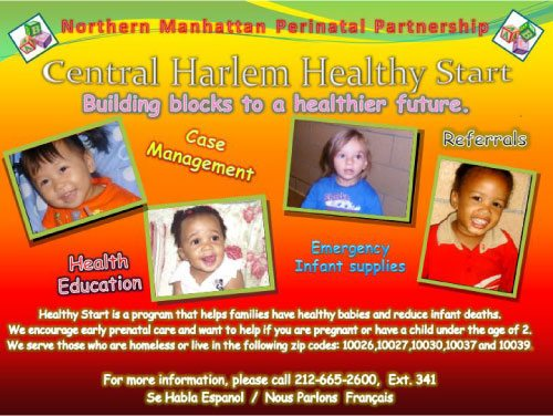 Central Harlem Healthy Start Program – Outreach & Marketing Plan
